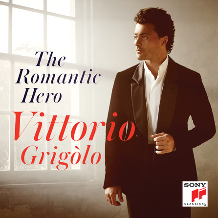 Vittorio Grigolo - The Romantic Hero - Cover